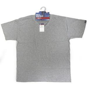 【SOMETHING HOMME】紳士 天竺 半袖V首Tシャツ